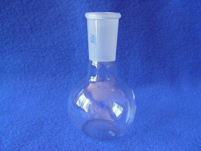 Flat bottom boiling flask FBF: 24/40, 100mL