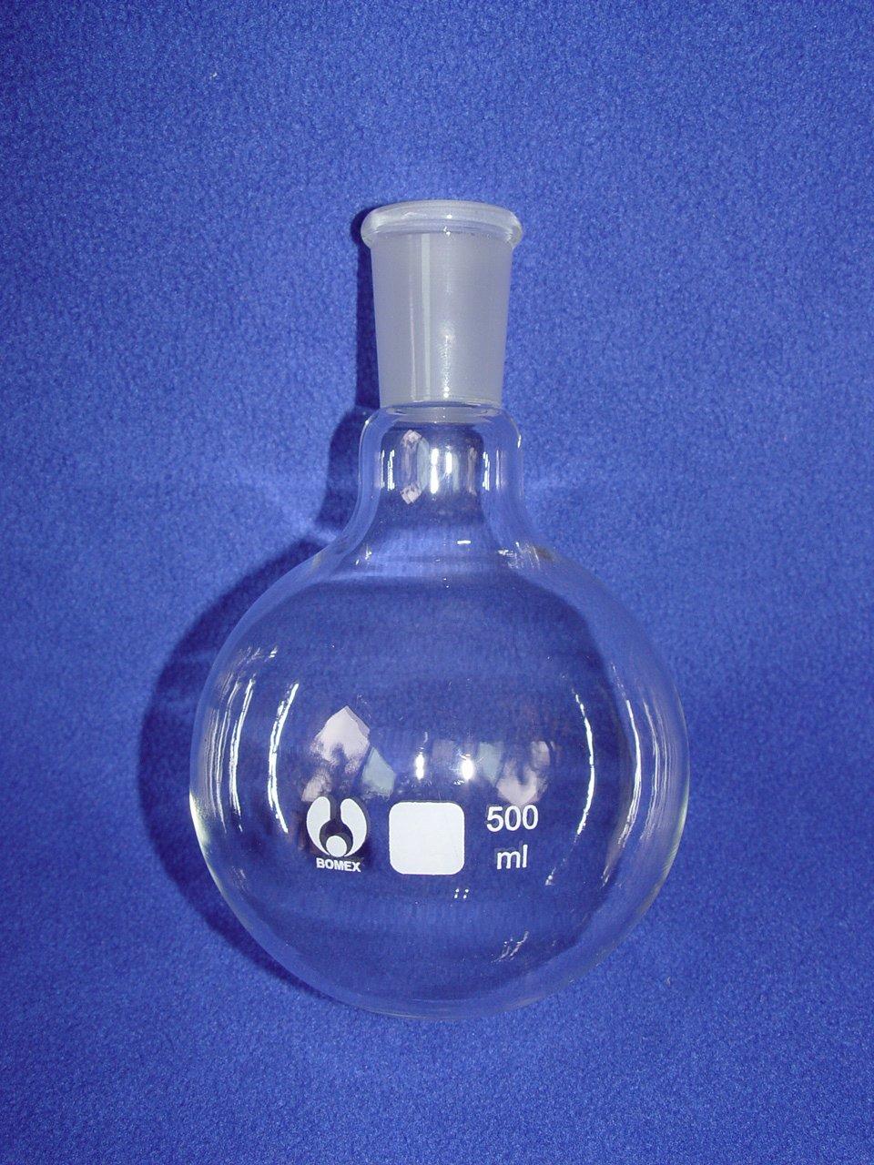 Round bottom flask 24/40 500mL bomex