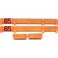 AMERICAN FLYER TRAINS GILBERT CANNON CAR FENCE set