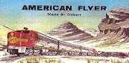 AMERICAN FLYER GILBERT SANTA FE BILLBOARD INSERT
