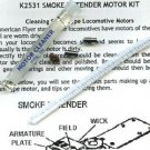 SMOKE IN TENDER MOTOR SERVICE KIT for AMERICAN FLYER TRAINS GILBERT