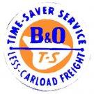 HO B&O BOX CAR STICKER for American Flyer