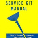 SERVICE KIT MANUAL for American Flyer Trains S Gauge Scale- REPRINT