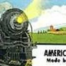 STEAM WHISTLING BILLBOARD ADHESIVE STICKER for American Flyer S Gauge Trains
