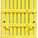 YELLOW STOCK CAR DOOR for American Flyer S Gauge Scale Trains