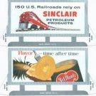 BILLBOARD CUTOUTS for American Flyer S Gauge Scale Trains