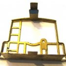 2 BRASS CABOOSE END RAILS for American Flyer ORIGINALS S Gauge Scale Trains