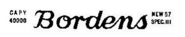 BORDENS CANISTER ADHESIVE STICKER for American Flyer FLAT CAR S Gauge Trains