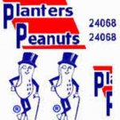 PLANTERS PEANUT BOX CAR ADHESIVE STICKER for American Flyer S Gauge Scale Trains