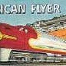 SANTA FE/STEAM WHISTLING BILLBOARD INSERT #2 for American Flyer S Gauge Trains