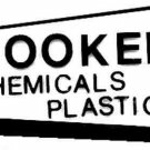 HOOKER CHEMICAL ADHESIVE STICKER for American Flyer S Gauge Scale Trains