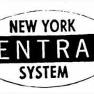 HO NEW YORK CENTRAL ADHESIVE BACK for GILBERT HO/AMERICAN FLYER HO TRAINS
