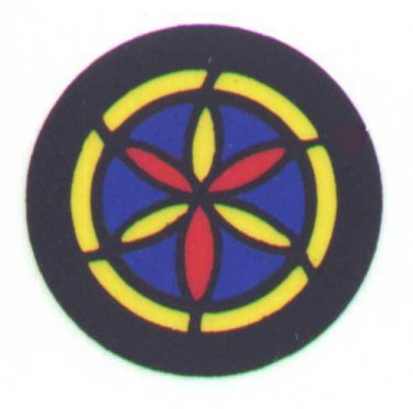 ROUND EAVE CHURCH WINDOW for FLYERVILLE MINI-CRAFT AMERICAN FLYER