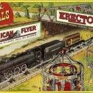 FUN & THRILLS BILLBOARD ADHESIVE BACK-for AMERICAN FLYER Train