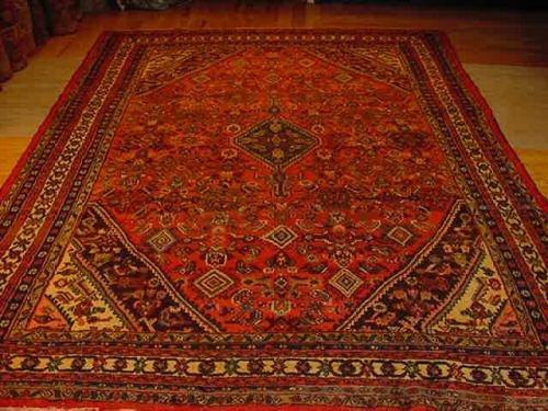 SUPER ANTIQUE PERSIAN SULTANABAD(SAROUK)MAHAL 9x12 EP10