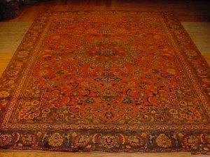SUPER SUPER ANTIQUE PERSIAN HALVAEE BIDJAR 9x12 EP11