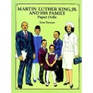 Martin Luther King, Jr., and His Family Paper Dolls in Full Color