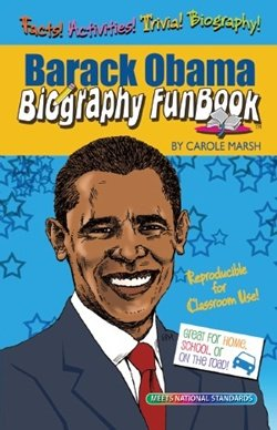 President Barack Obama Biography Fun Book