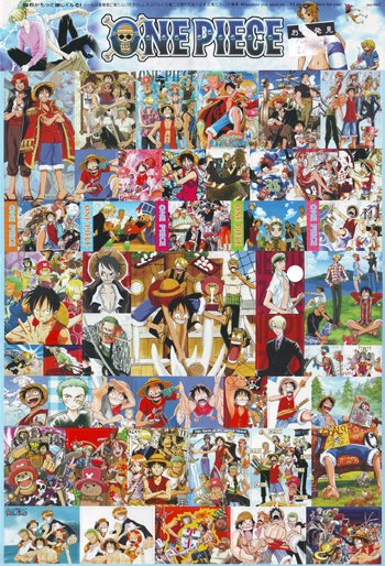 One Piece Stickers #1 + 3