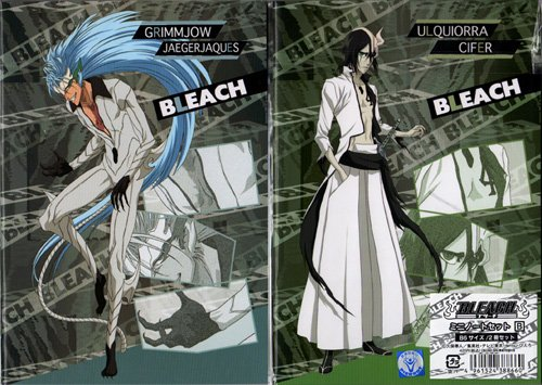 Bleach Shitajiki and Notebook Set (GRIMJOW)