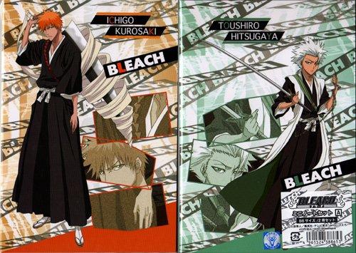 Bleach Shitajiki and Notebook Set (ICHIGO + HITSUGAYA)
