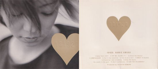 Amuro Namie CD 181920