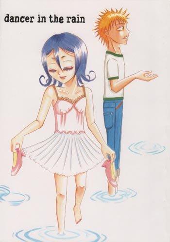 Bleach Doujinshi -  Dancer in the Rain (Ichigo x Rukia)
