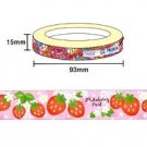 Kawaii Deco Tape - Strawberries