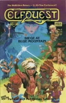 ElfQuest: Siege at Blue Mountain #1-8 (Set)