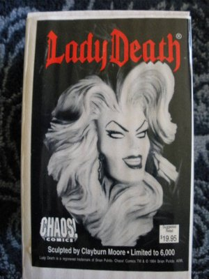 Lady Death Collectable Christmas Ornament