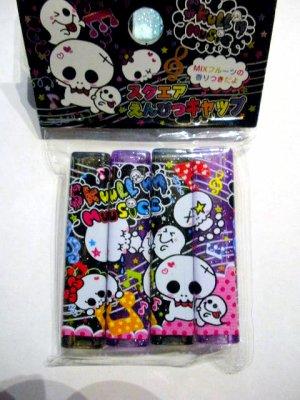 Kawaii Skulls Pencil Caps