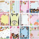 20 Various Mini Notepad Stationary Sheets (B)