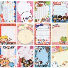 20 Various Mini Notepad Stationary Sheets (C)