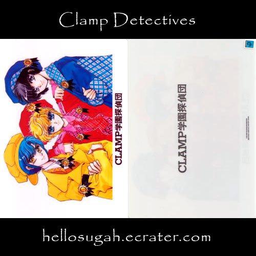 Clamp Shitajiki #13 (Clamp Detectives)