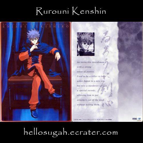 Rurouni Kenshin Shitajiki #04