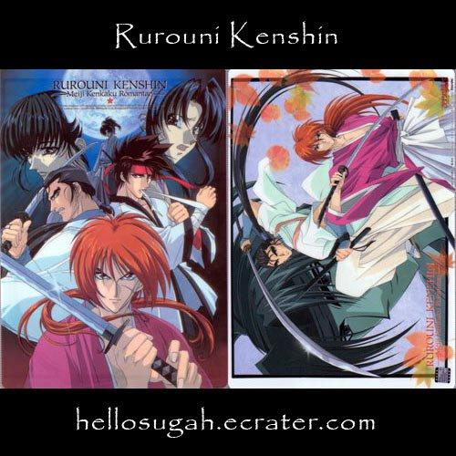 Rurouni Kenshin Shitajiki #09