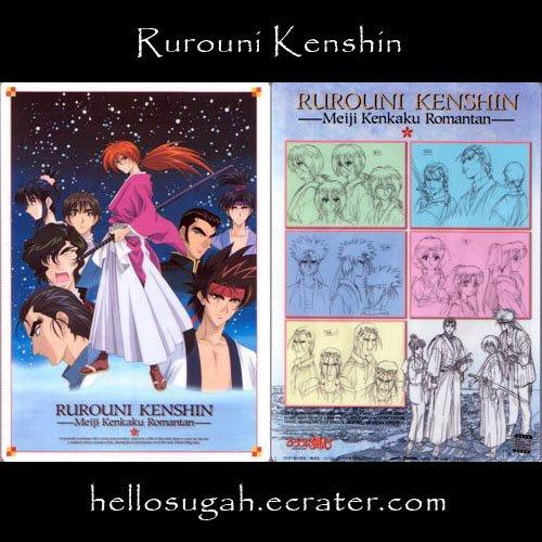 Rurouni Kenshin Shitajiki #10