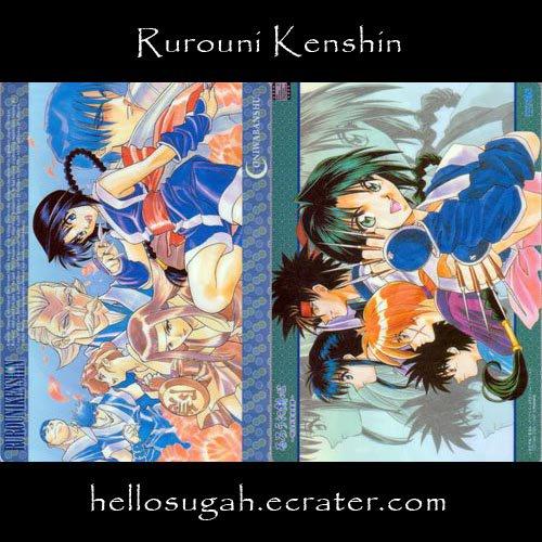 Rurouni Kenshin Shitajiki #15