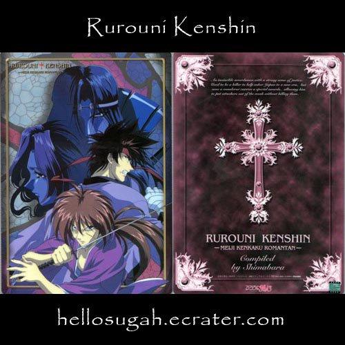 Rurouni Kenshin Shitajiki #18