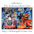 [B03-S09] Ultrahero  + Genseishin Justirisers Coloring Book