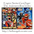 [B03-S08] Engine Sentai Go-Onger + Genseishin Justirisers Coloring Books