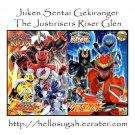 [B03-S07] Juken Sentai Gekiranger + Genseishin Justirisers Coloring Book