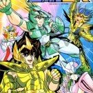 [B03] Saint Seiya Coloring Book #2
