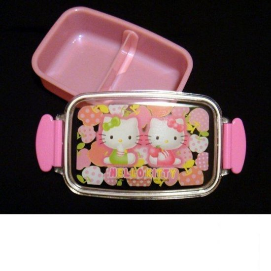 Japan Sanrio Hello Kitty Bento Lunch Box food container