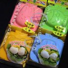 Bento Egg Mold Bear Bunny Car Fish YUDETAMA-GOKKO 4 set