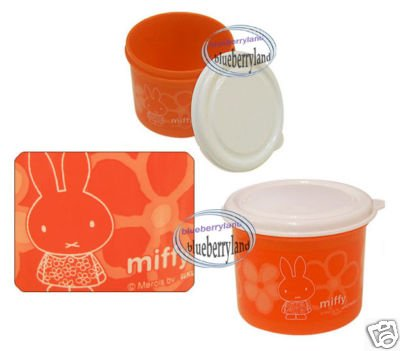 Miffy & Melanie Food Storage Box lunch snack case bento