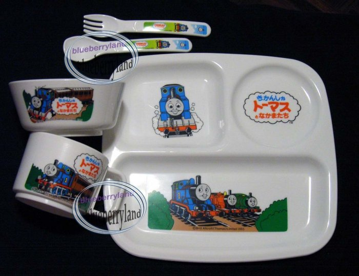 THOMAS & FRIENDS Baby Feeding Set Cup Plate Fork Spoon
