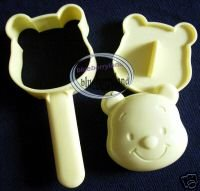Disney Winnie The Pooh Sushi Rice Mould Mold bento stencil