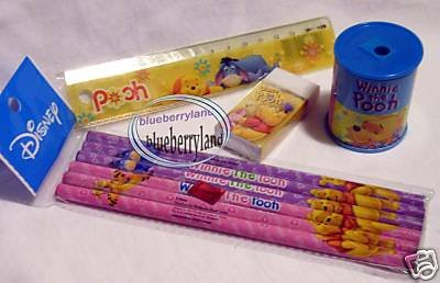 Disney Winnie the Pooh Stationery Gift set writing pen school child