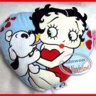 BETTY BOOP Heart Cushion Pillow gift bedroom women ladies girls